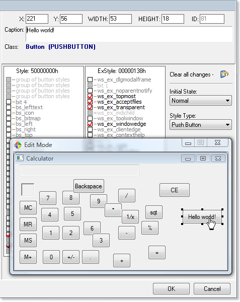 How To Edit A Dialog Box And Its Controls in EXE DLL Files